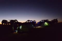 Acampada Noche