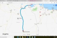 Itinerario Frontera- Hassi Bel Guebbour