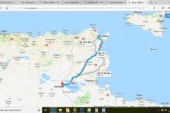 Itinerario La Golette-Frontera